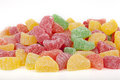 Jelly fruit candies Royalty Free Stock Photo