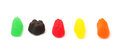 Jelly Fruit Candy Royalty Free Stock Photo