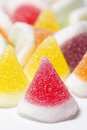 Jelly sugar sweet closeup shot Royalty Free Stock Photo