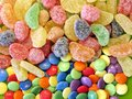 Jelly sweets Royalty Free Stock Photo