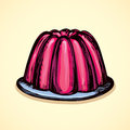Jelly. Vector drawing
