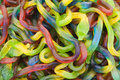 Jelly worms Royalty Free Stock Image