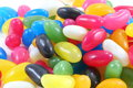 Jellybean assorted color candy sweet Royalty Free Stock Images