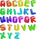 Jellybean font Stock Photography