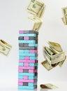 Jenga Game With Money