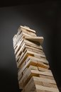 Jenga Game Strategy Royalty Free Stock Photo