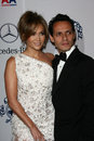 Jennifer lopez marc anthony and at the nd anniversary carousel of hope ball beverly hilton hotel beverly hills ca Royalty Free Stock Photography