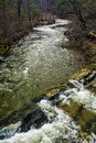 Jennings Creek located in the Blue Ridge Mountains of Virginia, USA Royalty Free Stock Photo