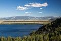 Jenny Lake at Grand Teton National Park, Wyoming, USA Royalty Free Stock Photo