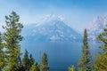 Jenny Lake in Grand Tetons Royalty Free Stock Photo