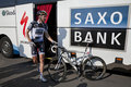 Jens Voigt Team Saxobank Royalty Free Stock Photo
