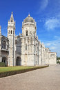 The Jeronimos monastery Stock Photo