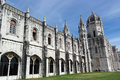 Jeronimos monastery lisbon portugal the Royalty Free Stock Photography