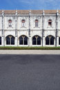 Jeronimos monastery lisbon portugal the Royalty Free Stock Images