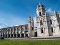 Jeronimos monastery lisbon portugal of in Stock Photography