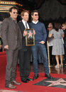 Jerry Bruckheimer & Johnny Depp & Tom Cruise Royalty Free Stock Photo