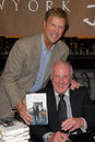 Jerry weintraub bob einstein and at a celebration of s new book when i stop talking you ll know i m dead barney s Royalty Free Stock Photo