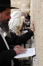 Jerusalem april orthodox jewish pray at the western wall during the jewish holiday of passover on april in jerusalem israel Royalty Free Stock Photo