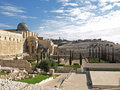Jerusalem Archeological Park Royalty Free Stock Photo