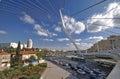Jerusalem bridge anew string in Royalty Free Stock Photos