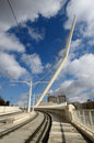 Jerusalem Chords Bridge Royalty Free Stock Photo