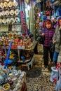 JERUSALEM, ISRAEL - CIRCA NOVEMBER 2011: People in market