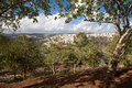 Jerusalem israel seen from yad vashem Stock Photo
