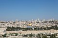 Jerusalem jerusalm old town cityview from the mount of olives israel Stock Photo