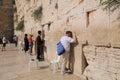 Jerusalem july jews prays at the western wall july in jerusalem israel Royalty Free Stock Images