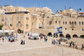 Jerusalem may visitors at the wailing wall on may in jerusalem israel it s arguably the most sacred site recognized by the jewish Stock Image