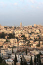 Jerusalem in the morning Royalty Free Stock Photo