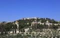 Jerusalem mount of olives churches israel Royalty Free Stock Images