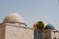 Jerusalem, Old City, Israel, Middle East, Dome of the Rock, skyline, Holy Land, religion, islam, place of worship Royalty Free Stock Photo
