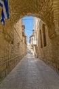 Jerusalem Old Street Royalty Free Stock Photo