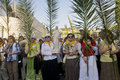 Jerusalem Palm sunday Stock Images