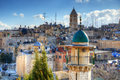 Jerusalem Rooftops Royalty Free Stock Image