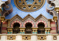 Jerusalem synagogue, Prague Royalty Free Stock Photo