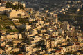 Jerusalem Village on Mount of Olives Royalty Free Stock Photos