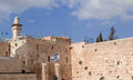The Jerusalem wailing wall Royalty Free Stock Photo
