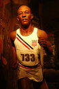 Jesse Owens Wax Figure Stock Photography