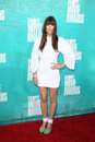 Jessica Biel arriving at the 2012 MTV Movie Awards Stock Images