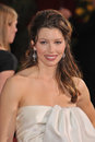 Jessica biel st academy awards kodak theatre hollywood february los angeles ca picture paul smith featureflash Royalty Free Stock Images