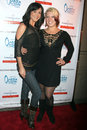 Jessica cox and tatiana mollmann at the love dancing cast wrap party the lounge los angeles ca Stock Photos