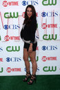 Jessica lowndes los angeles jul arrives at the cbs the cw showtime summer press tour party at the tent adjacent to beverly hilton Stock Photos