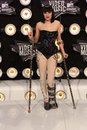 Jessie at the mtv video music awards arrivals nokia theatre la live los angeles ca Royalty Free Stock Image