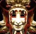 Jester mask Royalty Free Stock Photo