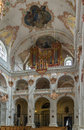 Jesuit church lucerne in is the first large baroque built in switzerland north of the alps interior Royalty Free Stock Image