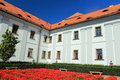 Jesuit college in klatovy the original czech republic Royalty Free Stock Images