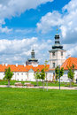 Jesuit college in kutna hora beautiful czech republic built th century this baroque complex of buildings served as a Royalty Free Stock Images