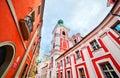 Jesuit college in poznan posen poland established by king sigismund iii vasa Stock Image